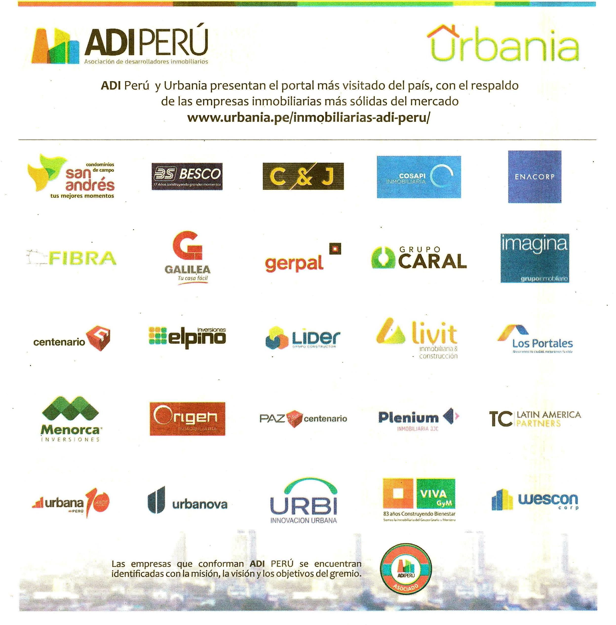 Adi Per Y Urbania Presentan Portal Adi Per